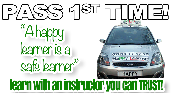 Driving lessons with Happy Learner Driving School